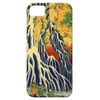 Bauern und Wasserfall iPhone 5 Hülle
