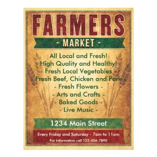 Bauern vermarkten essen Einheimisches Flyer