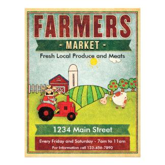 Bauern vermarkten Frischware und Fleisch Flyer