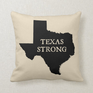 Bauernhaus-Art-Wurfs-Kissen Texas starkes Kissen