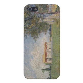 Bauernhaus auf einem Weizengebiet iPhone 5 Case