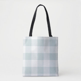 Bauernhaus-blaue Büffel-Karo-Taschen-Tasche Tasche