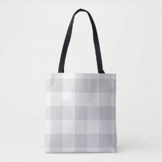 Bauernhaus-graue Büffel-Karo-Taschen-Tasche Tasche