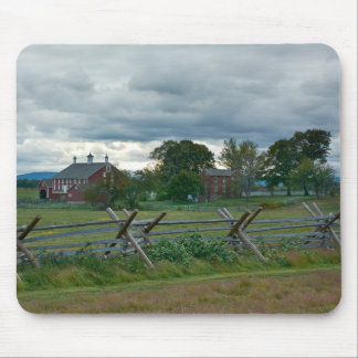Bauernhaus - Nationalpark Gettysburg - PA Mauspads