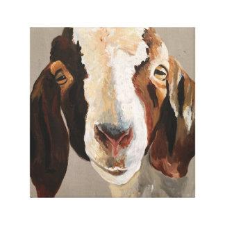 Bauernhaus-Show-Ziegen-Malerei-Wand-Kunst auf Leinwanddruck