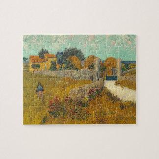 Bauernhaus Vincent van Goghs | in Provence, 1888 Puzzle