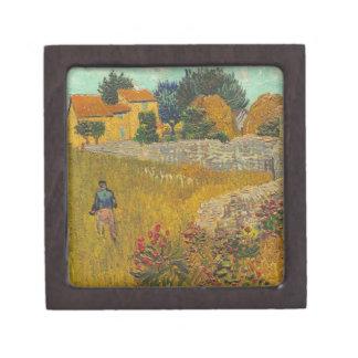 Bauernhaus Vincent van Goghs | in Provence, 1888 Schachtel