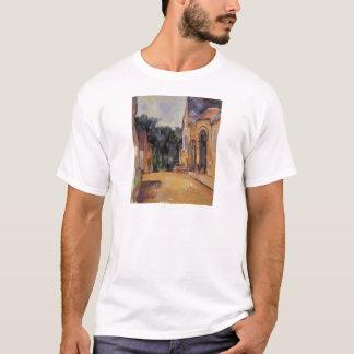 Bauernhof bei Montgeroult durch Paul Cezanne T-Shirt