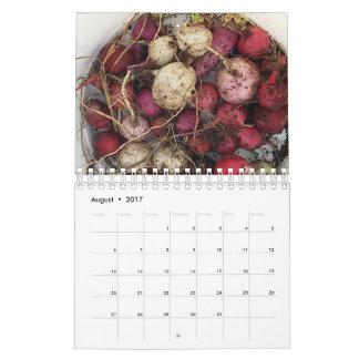 Bauernhof erfreut Kalender