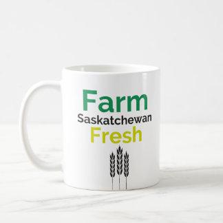 Bauernhof-frische Saskatchewan-Tasse Kaffeetasse