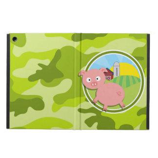 Bauernhof; hellgrüne Camouflage, Tarnung