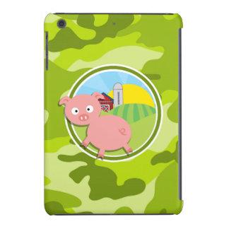 Bauernhof; hellgrüne Camouflage, Tarnung iPad Mini Retina Hüllen