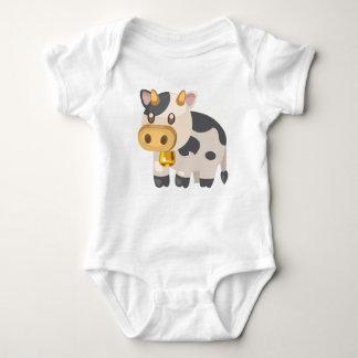 Bauernhof Tier-Kuh Baby Strampler