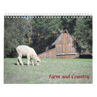 Bauernhof und Land 2018 Abreißkalender