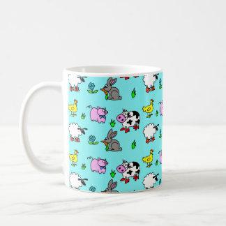 Bauernhof-Yard-Druck-Tasse Kaffeetasse