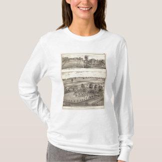 Bauernhöfe und Wohnsitze in der Magnolie T-Shirt