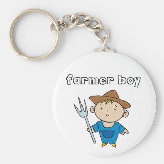 Bauers-Jungen-T-Shirts und Geschenke Schlüsselanhänger