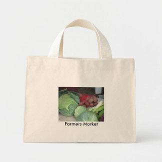 Bauers-Markt-Kohl u. Kartoffeln Tragetasche