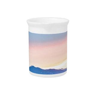 Bauers-Sonnenuntergang Getränke Pitcher