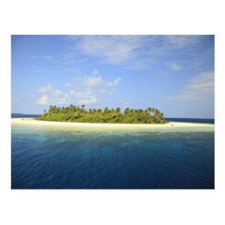 Baughagello Insel, SüdHuvadhoo Atoll, 3 Postkarte