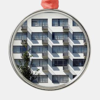 Bauhaus Dessau Deutschland Silbernes Ornament