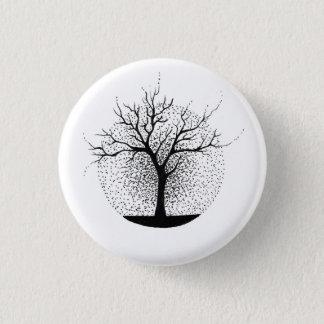 Baum-Abzeichen für Naturliebhaber Runder Button 2,5 Cm