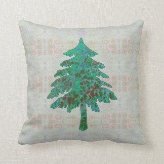 Baum-Batik 1 Kissen