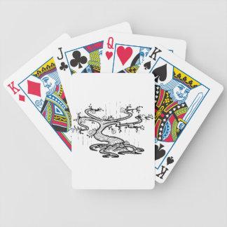 Baum Bicycle Spielkarten