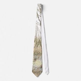 Baum-Blätter-Blatt-Entwurfs-Holz-Wald Krawatte