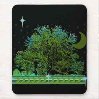 Baum-Blues Mousepad