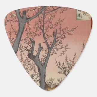 Baum blüht Pflaumen-Garten-Japaner Woodblock Plektrum
