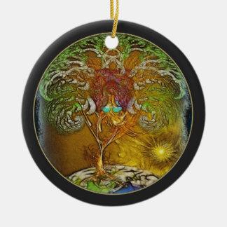 Baum der Leben-Illustration Keramik Ornament
