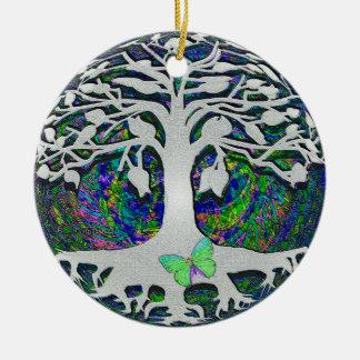 Baum der Leben-neuen Anfänge durch Amelia Carrie Keramik Ornament