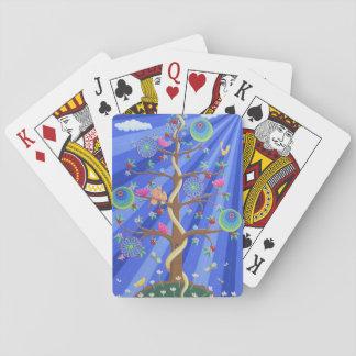 Baum der Leben-und Liebe-Spielkarten Spielkarten