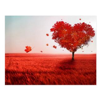 Baum der Liebe Postkarte