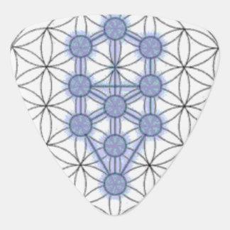 Baum des Leben-Dreieck-Plektrums Plektrum
