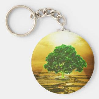 Baum des Leben-Friedens Schlüsselanhänger