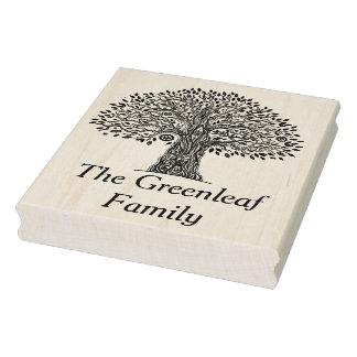 Baum des Leben-Gekritzels Gummistempel