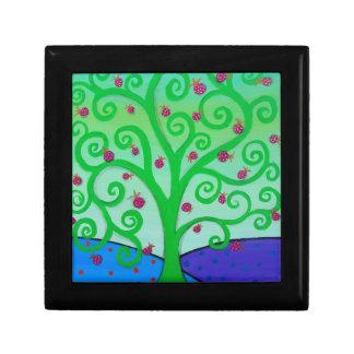 Baum des Leben-Granatapfels Geschenkbox