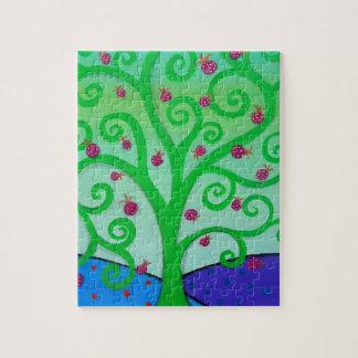 Baum des Leben-Granatapfels Puzzle