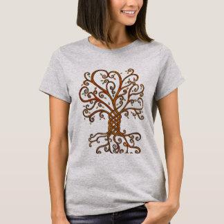 Baum des Leben-grundlegenden T - Shirt