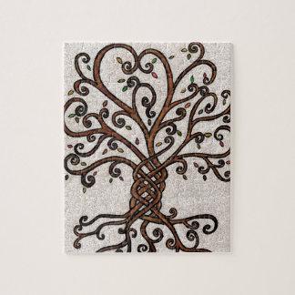 Baum des Leben-Puzzlespiels Puzzle