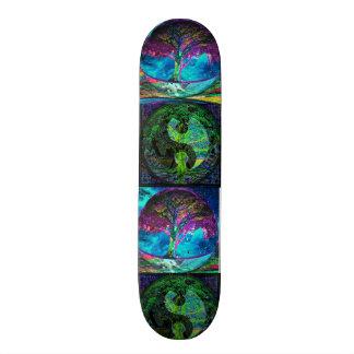 Baum des Leben-Wahrheits-Suchers Personalisiertes Skateboarddeck