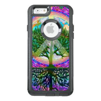 Baum des Leben-Weltfriedens OtterBox iPhone 6/6s Hülle
