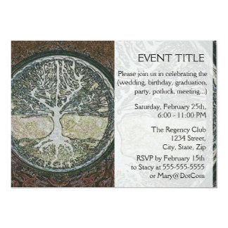 Baum des Lebens 12,7 X 17,8 Cm Einladungskarte