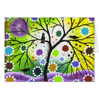 Baum des Lebens #33 durch Lori Everett Karte