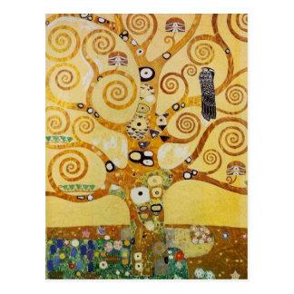 Baum des Lebens durch Klimt Postkarte