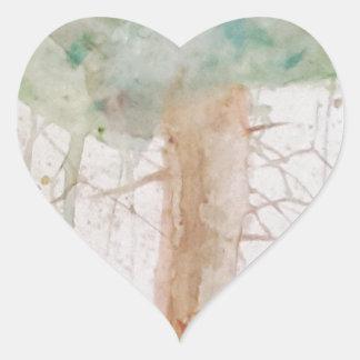 Baum des Lebens durch Koo Herz-Aufkleber