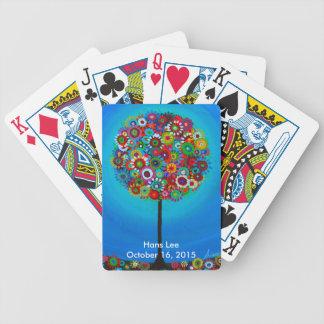 Baum des Lebens durch Prisarts Bicycle Spielkarten