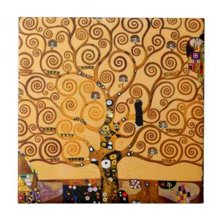 Baum des Lebens durch schöne Kunst Gustav Klimt Fliese
